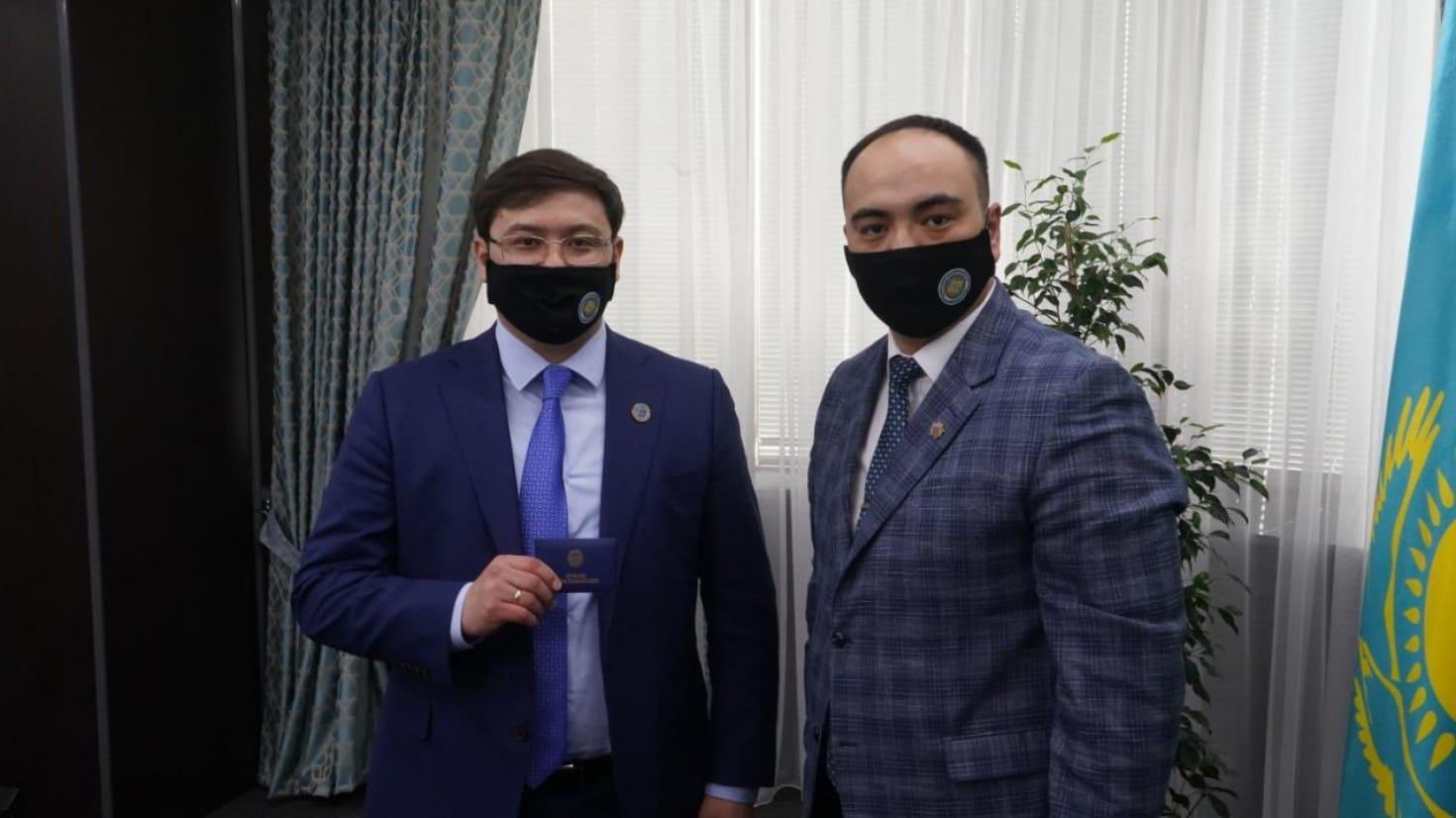 Ерик Турсынгалиев назначен президентом Восточно-Казахстанского филиала федерации киокушинкайкан каратэ