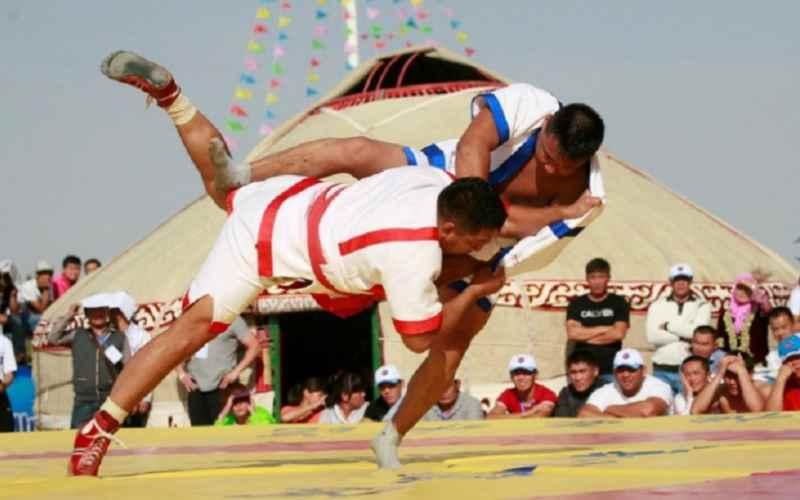 Казахская национальная борьба пробивает дорогу в олимпийскую семью