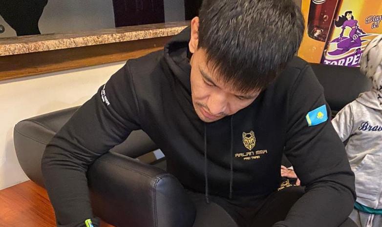 Казахстанский боец сделал самый большой апсет в истории Brave