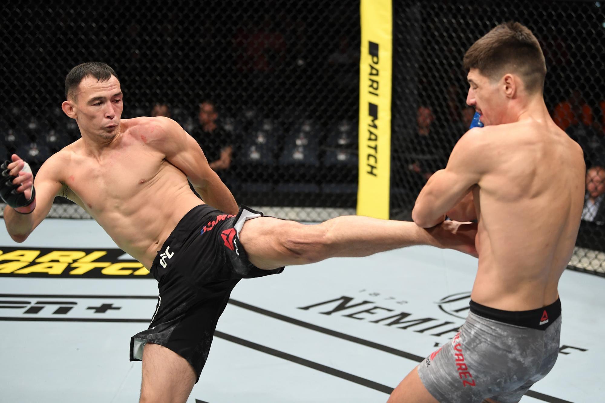 Что известно о следующем сопернике Исмагулова в UFC
